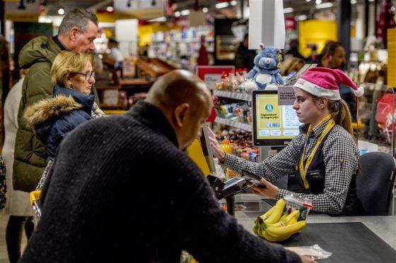 Kwart supermarkten open op Eerste Kerstdag