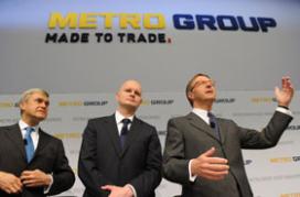 Duitse Metro houdt omzet op peil