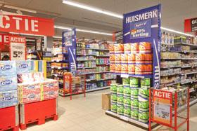 Omzetaandeel huismerken in België gestegen