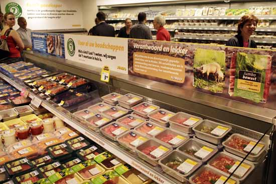 Supermarkten snelste groeiers met duurzaam voedsel