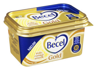 Unilever zet Blue Band en Becel in etalage