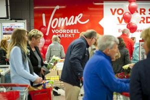 Vomar: volumestijging door discountprijzen