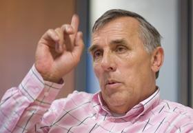 Dick Roele bestuursvoorzitter inkoopclub Columbus