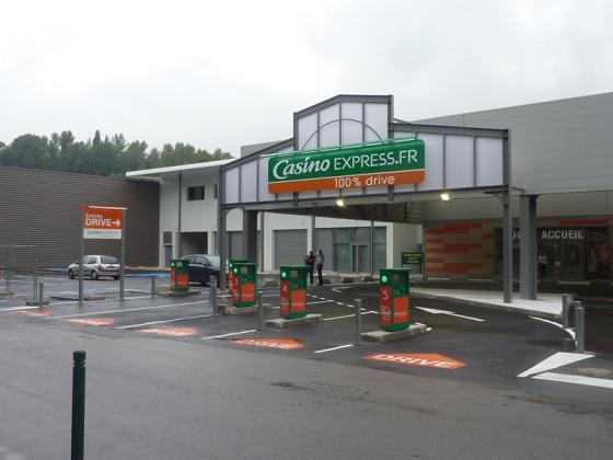 Franse supermarkt Casino voelt protesten