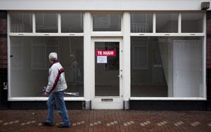 Topcurator: Golf aan faillissementen in retail