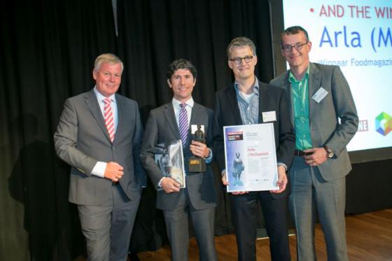 Arla wint Foodmagazine Marketing Award