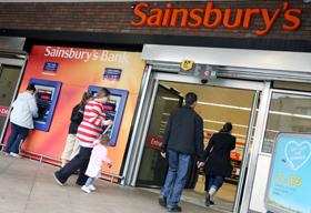 Sainsbury's countert Amazon met 1-uursservice