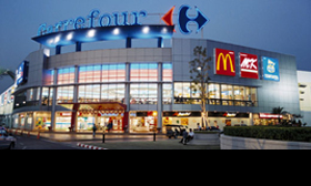 Franse boodschappen van Carrefour via Google