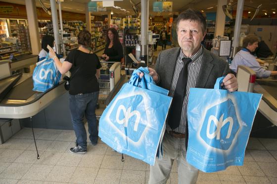 Plastic tasje als winstmaker is een sprookje