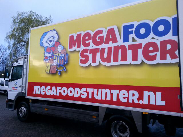 Mega Food Stunter kondigt thuisbezorging aan