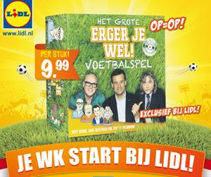 Lidl scoort met WK-advertentie