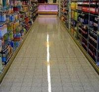 Supermarkt wil snelle oplevering vloer
