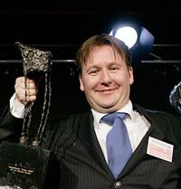 Ad van Geloven wint Industributie 2007