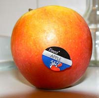 Tesco stopt appels in papieren zak