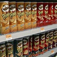 Pringles geen chips meer in Engeland