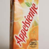 Appelsientje deelt 18.000 liter sap uit