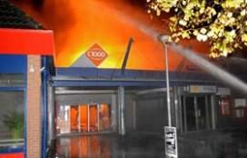 Dubbel gestraft na winkelbrand