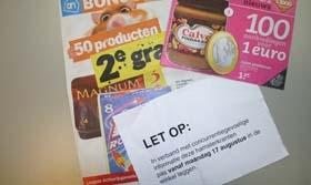 'Van elke supermarkteuro wordt nu 14 cent aan aanbiedingen besteed