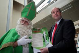 'Een groene Sint zaait twijfel en verwarring
