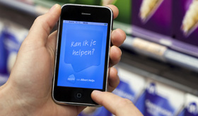 GSM-dienst wint terrein in de supermarkt