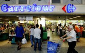 Carrefour introduceert digitale wachtrij