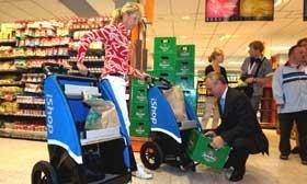 Albert Heijn wil verder met fietskar