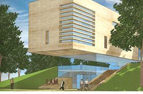 Van den Broek bouwt museum in Lisse