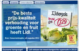 Lidl 'beste koop' bij groente en fruit
