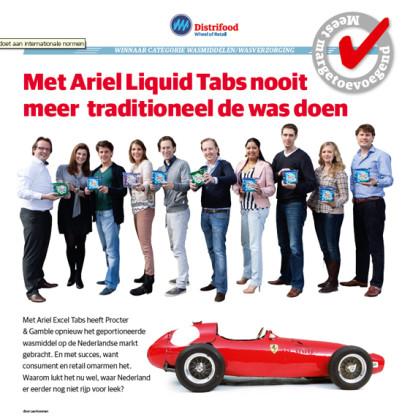 Wasmiddelen/wasverzorging: Ariel Liquid Tabs