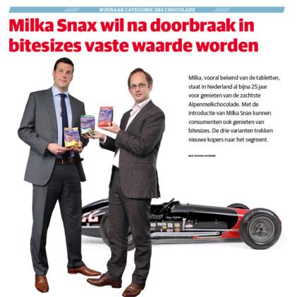 Chocolade: Milka Snax