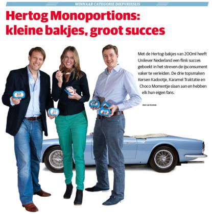 Diepvriesijs: Hertog Monoportions