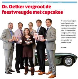 Bakproducten: Dr. Oetker Cupcakes