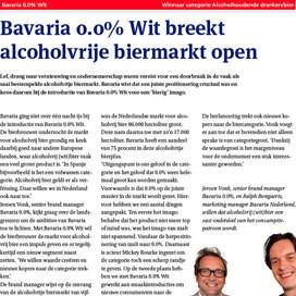 Alcoholhoudende dranken: Bavaria 0.0%