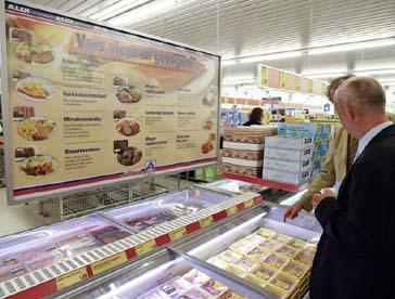 Aldi voert transparantiecode vers vlees in