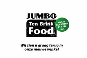 Ten Brink wordt Jumbo Foodmarkt-variant