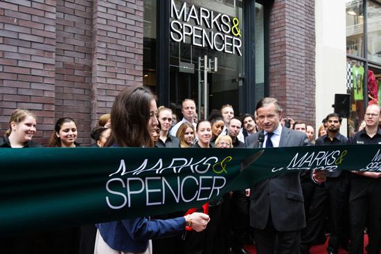 Nieuwe start voor Marks & Spencer in Amsterdam
