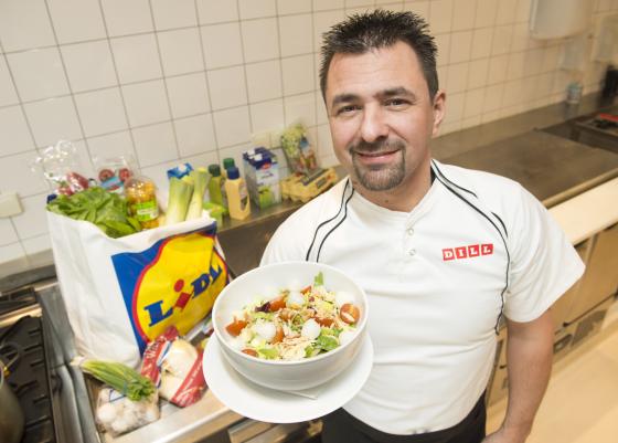 Fotorepo: Eerste Lidl-restaurant gaat open