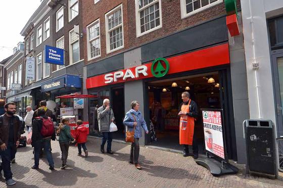 Fotoreportage: Spar pop-up store in Delft