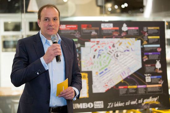 Rol Jumbo-ceo in stichting Marco Kroon