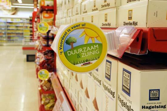 Marktaandeel duurzaam voedsel naar 7 procent