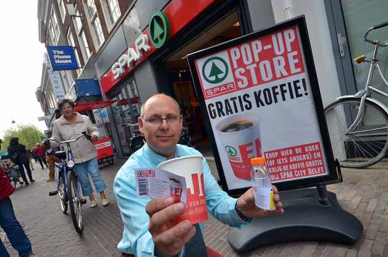 Na vier jaar weer Spar City in Delft