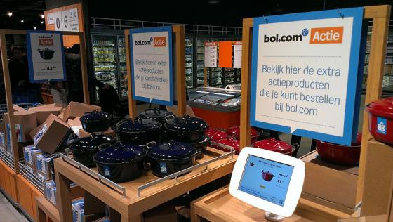 Bol.com vaak flink duurder dan supermarkt
