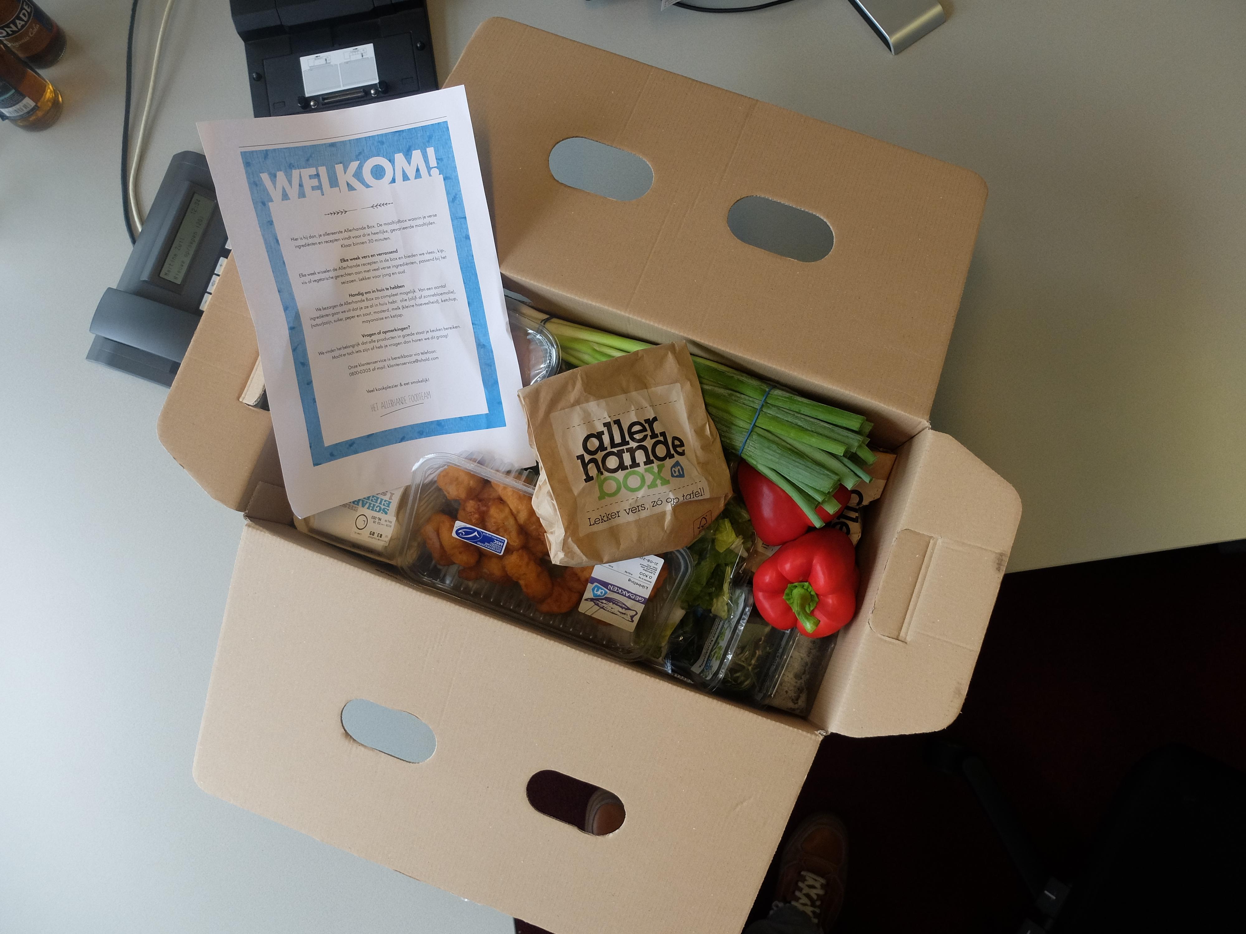 Allerhandebox Allerhande box maaltijdbox