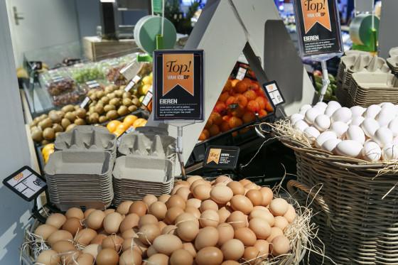 Supers vrij van fipronil-eieren