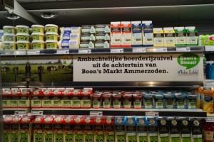 Boon's Markt maakt schap vrij voor verhaal