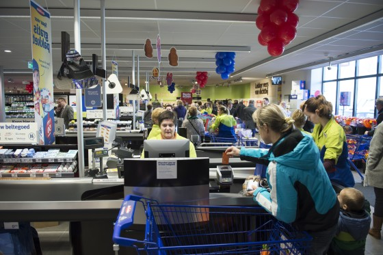 GfK: Omzet Nederlandse supers stijgt 2,5 procent