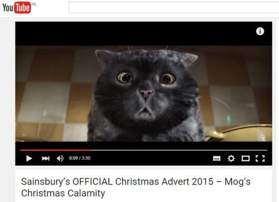 Sainsbury's miljoenen views met kerstvideo
