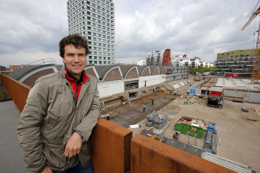 Van Heinde-initiator Casper Schoenmakers. (foto Bert Jansen)