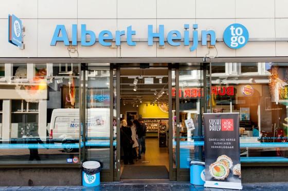 'AH To Go en kleine supermarkt in Hema'