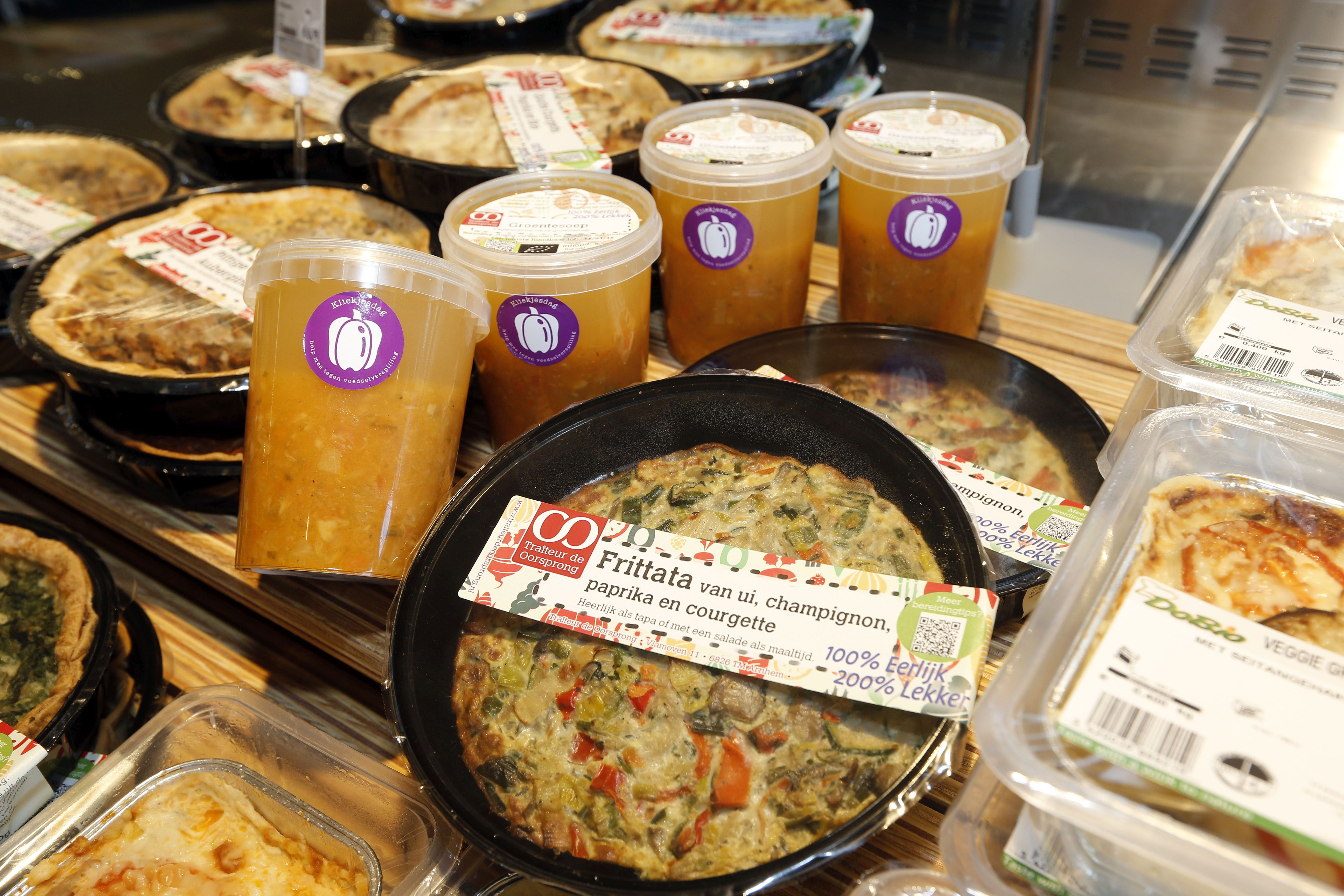 Ekoplaza maakt maaltijden van voedingsproducten die bijna over houdbaarheidsdatum zijn.